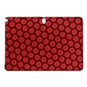 Red Passion Floral Pattern Samsung Galaxy Tab Pro 12.2 Hardshell Case View1