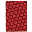 Red Passion Floral Pattern iPad Mini 2 Flip Cases View1
