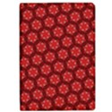 Red Passion Floral Pattern iPad Air Flip View1