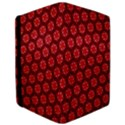 Red Passion Floral Pattern iPad Air Flip View3