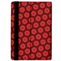 Red Passion Floral Pattern iPad Air Flip View4