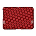 Red Passion Floral Pattern Amazon Kindle Fire (2012) Hardshell Case View1
