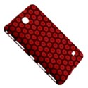 Red Passion Floral Pattern Samsung Galaxy Tab 4 (7 ) Hardshell Case  View5