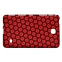 Red Passion Floral Pattern Samsung Galaxy Tab 4 (8 ) Hardshell Case  View1