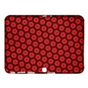 Red Passion Floral Pattern Samsung Galaxy Tab 4 (10.1 ) Hardshell Case  View1