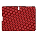 Red Passion Floral Pattern Samsung Galaxy Tab S (10.5 ) Hardshell Case  View1