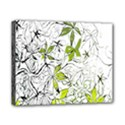 Floral Pattern Background  Canvas 10  x 8  View1
