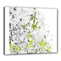 Floral Pattern Background  Canvas 24  x 20  View1
