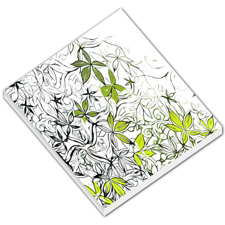 Floral Pattern Background  Small Memo Pads