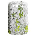 Floral Pattern Background  HTC Wildfire S A510e Hardshell Case View2