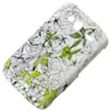 Floral Pattern Background  HTC Wildfire S A510e Hardshell Case View4
