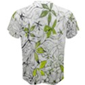 Floral Pattern Background  Men s Cotton Tee View2