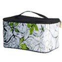 Floral Pattern Background  Cosmetic Storage Case View3