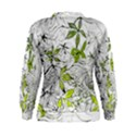 Floral Pattern Background  Women s Sweatshirt View2