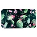 Modern Green And Pink Leaves Apple iPhone 3G/3GS Hardshell Case View1