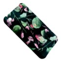 Modern Green And Pink Leaves Apple iPhone 3G/3GS Hardshell Case View5