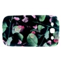 Modern Green And Pink Leaves Samsung Galaxy S III Hardshell Case  View1