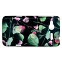 Modern Green And Pink Leaves HTC Radar Hardshell Case  View1