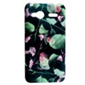 Modern Green And Pink Leaves HTC Radar Hardshell Case  View2