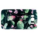 Modern Green And Pink Leaves HTC Sensation XL Hardshell Case View1