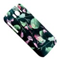 Modern Green And Pink Leaves HTC Sensation XL Hardshell Case View5