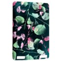 Modern Green And Pink Leaves Kindle Touch 3G View2