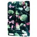 Modern Green And Pink Leaves Kindle Touch 3G View3