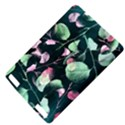 Modern Green And Pink Leaves Kindle Touch 3G View4