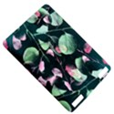 Modern Green And Pink Leaves Kindle Touch 3G View5