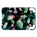 Modern Green And Pink Leaves Kindle 3 Keyboard 3G View1