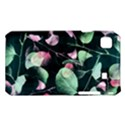 Modern Green And Pink Leaves Samsung Galaxy S i9008 Hardshell Case View1