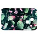 Modern Green And Pink Leaves Samsung S3350 Hardshell Case View1