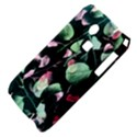 Modern Green And Pink Leaves Samsung S3350 Hardshell Case View4
