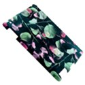 Modern Green And Pink Leaves Apple iPad 2 Hardshell Case View5