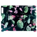Modern Green And Pink Leaves Apple iPad 2 Hardshell Case (Compatible with Smart Cover) View1