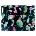 Modern Green And Pink Leaves Apple iPad 3/4 Hardshell Case View1