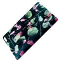 Modern Green And Pink Leaves Apple iPad 3/4 Hardshell Case View4