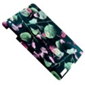 Modern Green And Pink Leaves Apple iPad 3/4 Hardshell Case View5