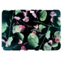 Modern Green And Pink Leaves Samsung Galaxy Tab 8.9  P7300 Hardshell Case  View1