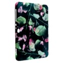 Modern Green And Pink Leaves Samsung Galaxy Tab 8.9  P7300 Hardshell Case  View2