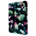 Modern Green And Pink Leaves Samsung Galaxy Tab 8.9  P7300 Hardshell Case  View3