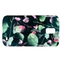 Modern Green And Pink Leaves Samsung Galaxy S II Skyrocket Hardshell Case View1
