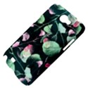 Modern Green And Pink Leaves Samsung Galaxy Note 2 Hardshell Case View4