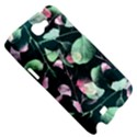 Modern Green And Pink Leaves Samsung Galaxy Note 2 Hardshell Case View5