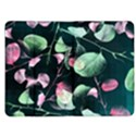 Modern Green And Pink Leaves Kindle Fire (1st Gen) Flip Case View1