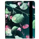 Modern Green And Pink Leaves Kindle Fire (1st Gen) Flip Case View2