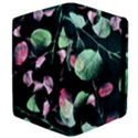 Modern Green And Pink Leaves Kindle Fire (1st Gen) Flip Case View4