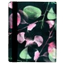 Modern Green And Pink Leaves Apple iPad 2 Flip Case View3