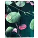 Modern Green And Pink Leaves Apple iPad 3/4 Flip Case View1