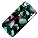 Modern Green And Pink Leaves Apple iPhone 4/4S Hardshell Case (PC+Silicone) View4